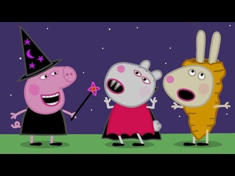 Peppa Pig en Español  Disfraces de Halloween  Episodios completos  Dibujos Animados