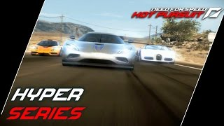 NFS: Hot Pursuit (2010) Playlist: https://www.youtube.com/playlist?list=PLi-a_-JYhWjsi7Zt9vGoZFpXuI0uUhBd4* Hyper Series- Breaking Point (00:16)• A special unit of McLaren F1 interceptors has been sent out to stop you. They should be no match for you in your Bugatti Veyron Grand Sport.• Used ride: Bugatti Veyron 16.4 Grand Sport- Spirit of Performance (05:25)• Choose between Koenigsegg's record-breaking CCX, the evolution of the CC bloodline, and its successor, the new Agera, in this epic duel.• Used ride: Koenigsegg Agera- Faster Than Light  (09:21)• With the light fading fast only the best drive will make it out the other side of Big Timber in first place. Bugatti, Koenigsegg, McLaren are up to the challenge - are you?• Used ride: Koenigsegg CCX- Wild Ride (15:12)• Can you tame the 1000 horses of the Koenigsegg CCXR Edition as you thunder along Lost Horse and Grand Ocean Road?• Used ride: Koenigsegg CCXR- Calm Before The Storm (18:42)• It seems as you've succesfully avoided police attention for today's race: radio chatter has been quiet. Too quiet perhaps...• Used ride: McLaren F1- King of the Road (25:05)• The original hypercar takes on the fastest car in the world in the ultimate showdown.• Used ride: Koenigsegg CCXR- Blast From The Past (30:48)• The McLaren F1 held the record for the fastest production car in the world for over 20 years. Find out why in this 22.6 km Time Trial through the drift-friendly roads of Northern Seacrest.• Used ride: McLaren F1- Highway Battle (35:50)• You have topped the Seacrest most wanted list and there's nothing the cops won't do to stop you. Expect their fastest units, armed to the teeth.• Used ride: Koenigsegg Agera- Seacrest Tour (41:48)• This is it. The big finale. The longest route with the fastest, most expensive and exclusive cars ever made. With a Speedwall full of your friends' best times what are you waiting for?• Used ride: Koenigsegg AgeraUsed device: KeyboardRecording Software: Shadowplay (NVIDIA GTX 760)Video Editing Software: Adobe Premiere Pro CS6