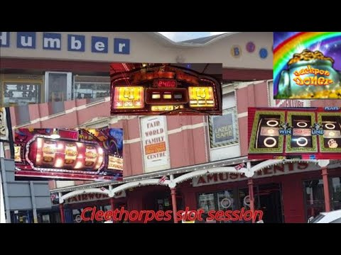 Slot session from Cleethorpes lincolnshire colab with Retro Arcade machine & Guy777