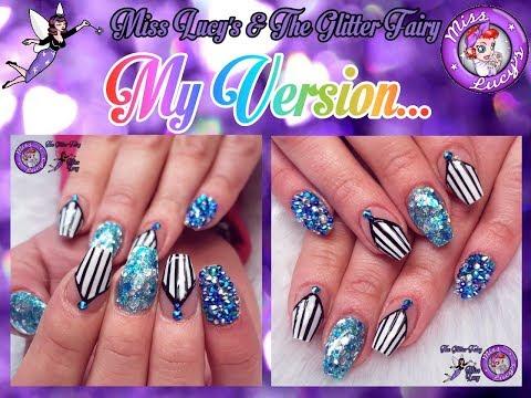 Acrylic NailsMy VersionFreehand GelFull Crystal Nail