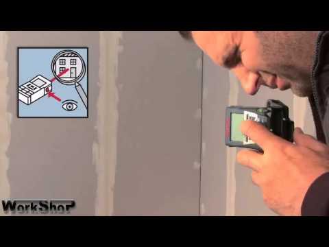 Misuratore laser BOSCH professional GLM 250 VF italiano
