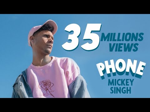 Video Mickey Singh - Phone [Official Video] download in MP3, 3GP, MP4, WEBM, AVI, FLV January 2017