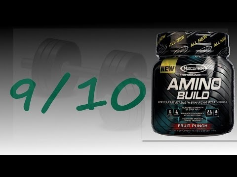 MUSCLETECH Amino Build Bodybuilding Supplement Review