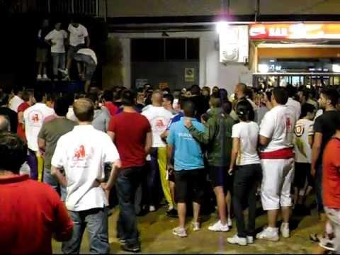 Peña Taurina Albalat dels Sorells - 40 Aniversario - 1er Toro Embolado G. C. Mayalde 02/09/2011