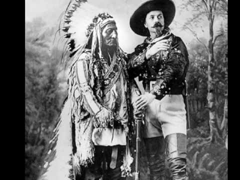 1885 Buffalo Bill and Sitting Bull