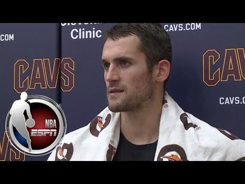Video: Kevin Love says Cavaliers' playing was 'ugly' in loss to Hawks | NBA on ESPN