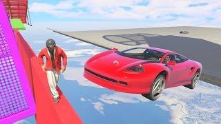 DODGE THE CARS! - GTA 5 Funny Moments #646