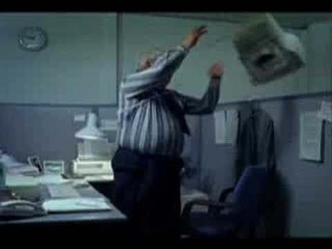 Funny Banned Smoking Commercial ( Stressed at Office )