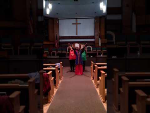 Fix Me Jesus final rehearsal (видео)