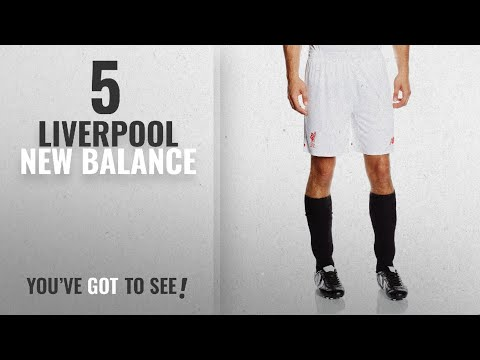 Top 10 Liverpool New Balance [2018]: 2015-2016 Liverpool Away Shorts (White)