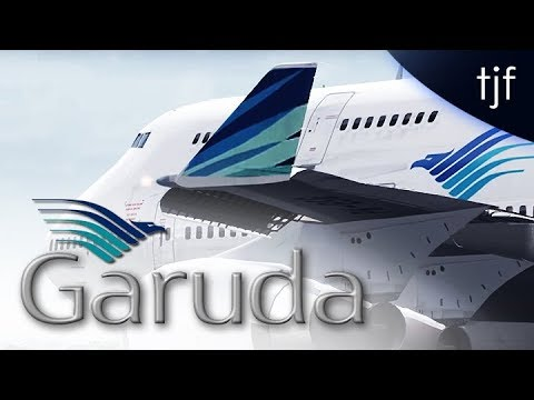 FSX - Garuda Indonesia Boeing 747-400 at Melbourne
