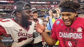 Oklahoma beats Texas to capture Big 12 title | College Football Highlights