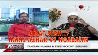 Video Debat TV One HARIS Azhar VS NGABALIN Tangan Hukum & Diksi Rocky Gerung MP3, 3GP, MP4, WEBM, AVI, FLV Maret 2019