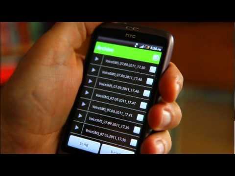 Video of Voice SMS(MSS) - voice2voice