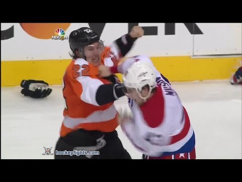 Tom - Tom Wilson vs Luke Schenn and John Erskine vs Vincent Lecavalier from the Washington Capitals at Philadelphia Flyers game on Mar 5, 2014. via http://www.hock...