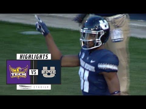 Tennessee Tech vs Utah State Football Highlights (2018)   Stadium