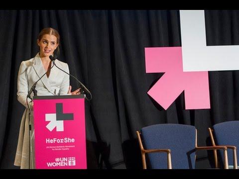 "Discurso Emma Watson ""HeForShe"""