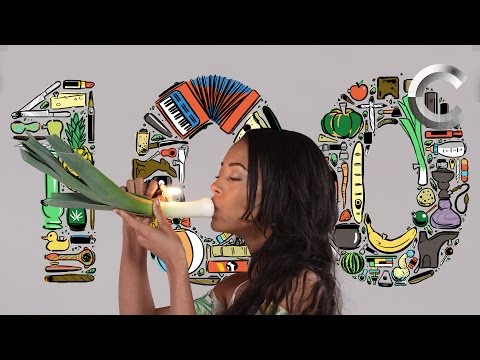 Watch This Woman Shows Us 100 Ways to Get High