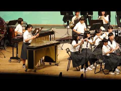 箕面市立第6中学校吹奏楽部【2016年箕面市夏の吹奏楽祭】
