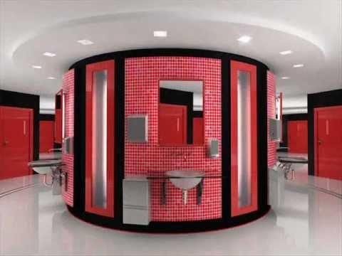 9 потрясающих дизайнов туалета