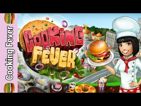 Cooking Fever. Aloha Bistro Tutorial Level 1