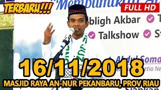 Video Ceramah Terbaru Ustadz Abdul Somad Lc, MA - Masjid Raya An-Nur Prov Riau MP3, 3GP, MP4, WEBM, AVI, FLV Desember 2018