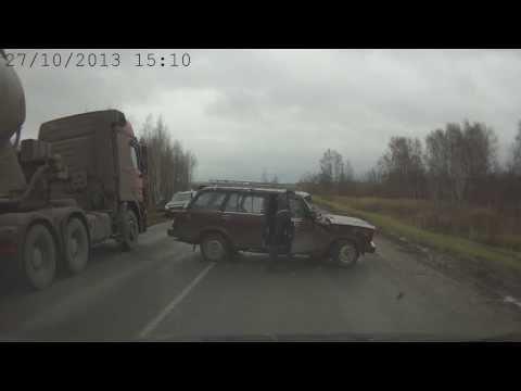 ДТП Нижегородская область трасса Кстово - Дальнее Константиново 13-й км.