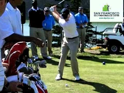 Hunter Mahan FO Iron Golf Swing Slow Motion