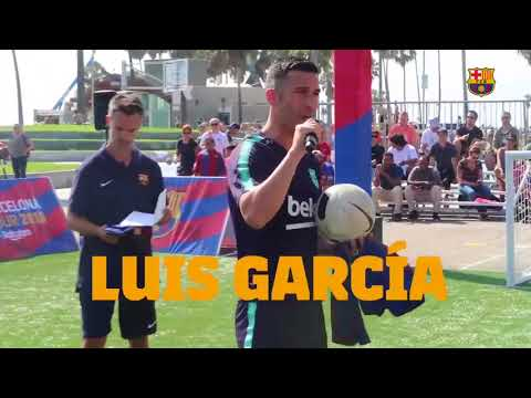 Luis Garcia – FCBarcelona – Los Angeles