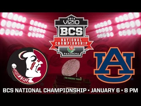 State - Courtesy http://www.seminoles.com: It is official, Florida State will play Auburn in the National Championship on January 6.