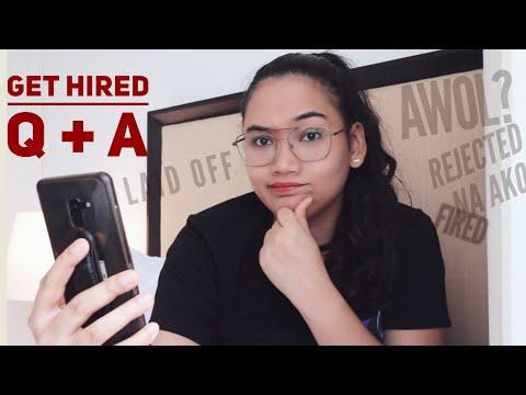 Paano kung nag-AWOL ako? - Get Hired Q and A