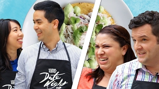 Couples Compete In The Crab Tostada Challenge • Tasty Date Night // Presented By The 2017 Rav4 by Tasty