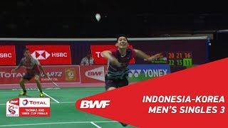 Video Thomas Cup | MS3 | Firman Abdul KHOLIK (INA) vs HA Young Woon (KOR) | BWF 2018 MP3, 3GP, MP4, WEBM, AVI, FLV Agustus 2018