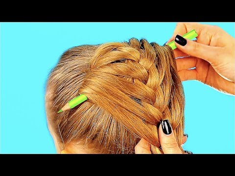 CUTE 1-MINUTE HAIRSTYLES FOR LITTLE GIRLS