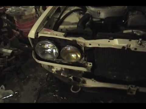 1983 Mercedes-Benz 240D – part 24: removing front bumper
