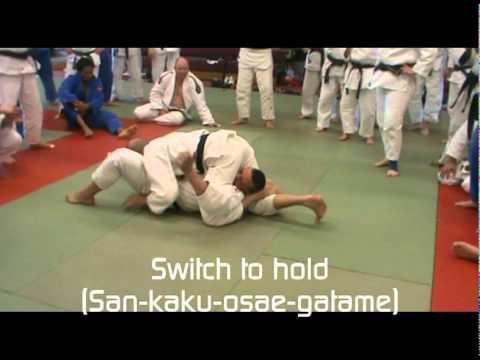 Judo – San-kaku-jime Techniques by Steve Gawthorpe (6th Dan)_1