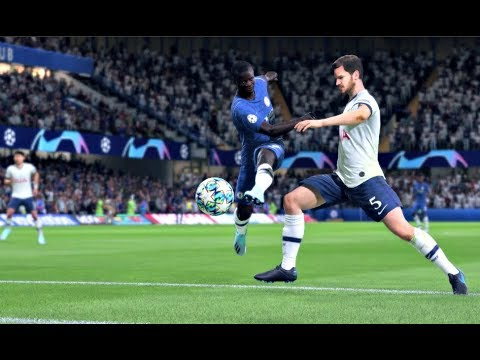 FIFA 20 Demo - Chelsea vs Tottenham Hotspur UEFA Champions League - (CPU vs CPU) FIFA 20 Gameplay