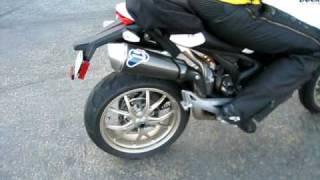 9. Ducati Monster 1100S Termignoni Rev + Drive off