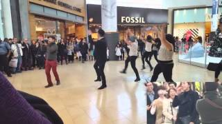 Flash Mob Marry You Proposal in Yorkdale (Tommy Park & Serena Gim) Video
