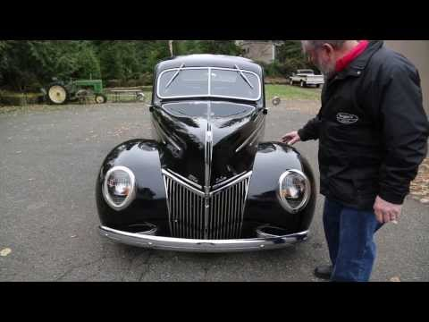 """1939 Ford Deluxe Coupe Street Rod  """" SOLD """"  Drager's International Classic Sales 206-533-9600"""