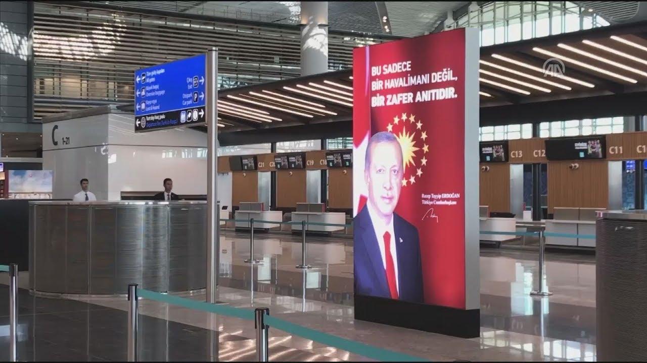 Το νέο αεροδρόμιο της Κωνσταντινούπολης