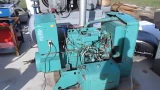 Onan Diesel Generator 15 Kw Electric Gen Set 15.0RDJC-4R/2072AC
