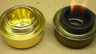 7. ALOCS stove & Trangia