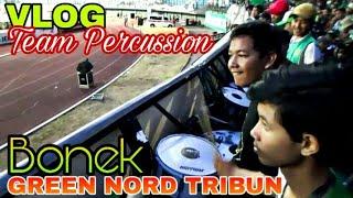 Video Yukk...Ngintip Kompaknya Tim Perkusi di Tribun Green Nord | Persebaya vs Pusamania Borneo FC MP3, 3GP, MP4, WEBM, AVI, FLV Oktober 2018