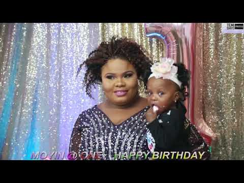 MOYINSOLA CELEBRATES 1ST BIRTHDAY PARTY