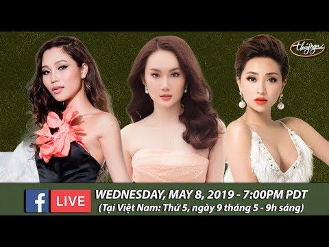 Livestream với Diễm Sương, Hoàng Mỹ An, Như Ý - May 8, 2019 - Thời lượng: 1 giờ và 3 phút.