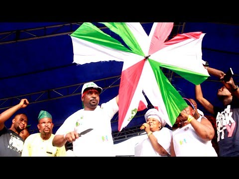MC OLUOMO DESTROYED PDP UMBRELLA IN ANGER, WHILE PASUMA DRUM SUPPORT FOR APC WITH A GOOD ANTHEM