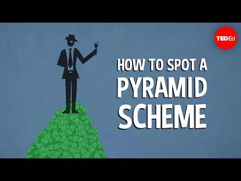 IMPORTANT: How to Spot a Pyramid Scheme!