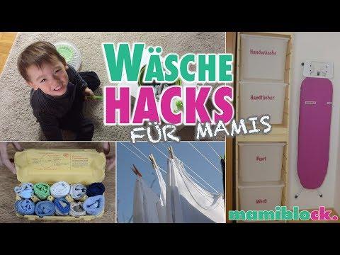 Die besten Wäsche Tricks   MOM HACKS   mamiblock