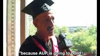AUP Graduation 2009 (VOA - Voice of America)